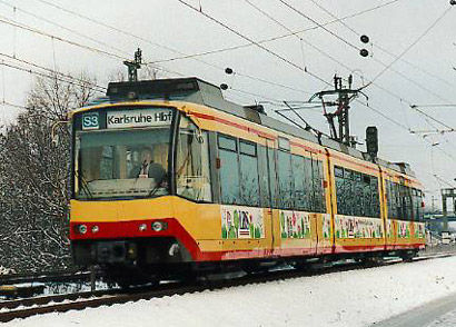 The pioneering tram-train network in Karlsruhe has been extensively studied