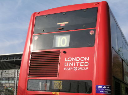 French operator RATP took over the London bus operator London United at the beginning of March this year