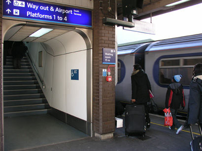 Railnews - Airline chief rejects high speed 'Heathwick' rail