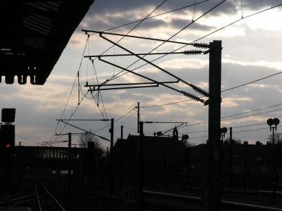 Image of overhead lines