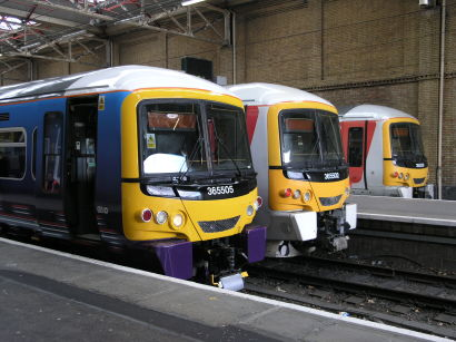 Railnews - More stopgap Class 365s arrive in Scotland
