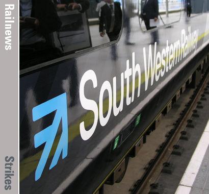 Railnews - War of words grows on second SWR strike day