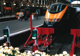 GNER trains standing at King's Cross