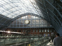 The first German train is due to arrive at St Pancras on 19 October