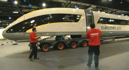 Future through train from Birmingham to Paris? This is Eurostar's next generation rolling stock, which could one day run to the Midlands and North