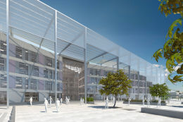 Image of the Quadrant:MK, the new Network Rail HQ