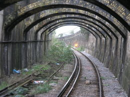 The Connaught Tunnel as it appeared in 2006