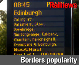 Councillor 'taken aback' by Borders Railway demand