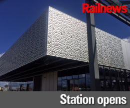 New 'green' station opens in Cambridge