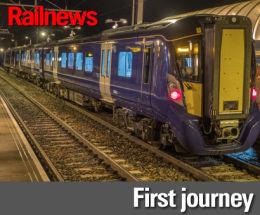 Electric milestone for ScotRail Alliance   Railnews   Today's news