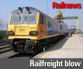 European Commission under fire for refusing railfreight grant