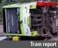 New speed restrictions following tram crash