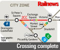 New tram line opens in Manchester