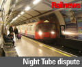 Dates announced for Night Tube walkouts