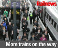 Another thousand trains a day within four years
