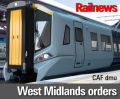 Bombardier, CAF to build trains for West Midlands