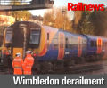 Derailment disrupts London Waterloo services