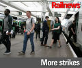 Second day of strikes in DOO disputes as ASLEF accepts deal