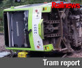 Tram crash driver may have been in 'microsleep'