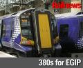 EGIP goes electric, but new trains must wait until 2018