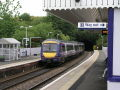 Protests as Scottish trains depart for England