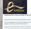 'Don't travel unless you must,' urges Eurostar