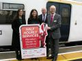 Regular services launched at new London station