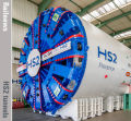 HS2's giant tunnelling machines prepare for New Year launch